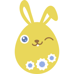 Yellow Wink Sticker