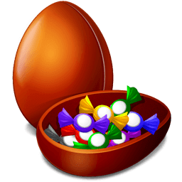 Chocolate Egg Sticker