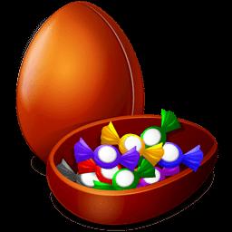 Chocolate Egg Sticker