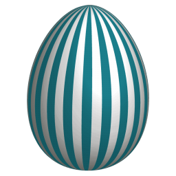 Easter Egg 5 Sticker