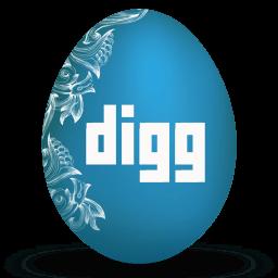 Digg Sticker