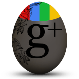 Google Plus Sticker