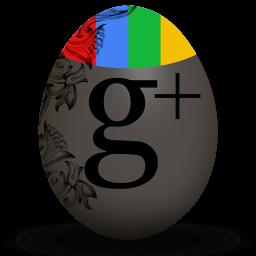 Google Plus Sticker