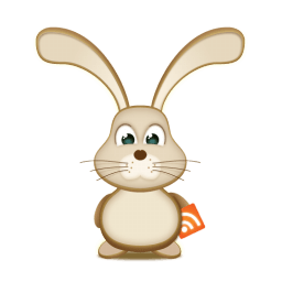 Easter Bunny Rss Sticker