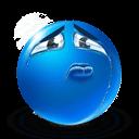 Sincere Sadness Sticker