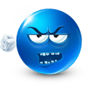 Grumpy Sticker