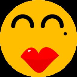 Girl Red Lips Sticker