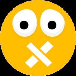Cross Mouth Sticker