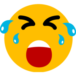 Crying So Hard Sticker