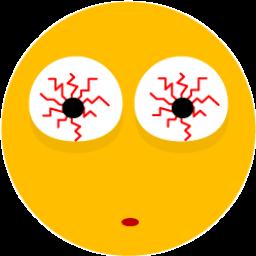 Sick Eyes Sticker
