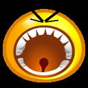 Yelling Sticker