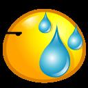Sweat Sticker