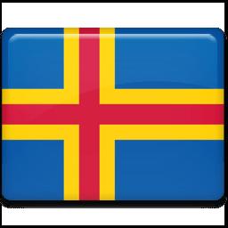 Aland Islands Sticker