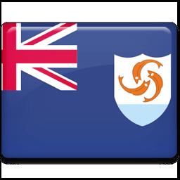 Anguilla Flag Sticker