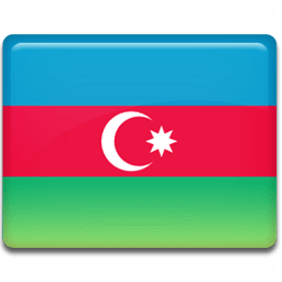 Azerbaijan Flag Sticker