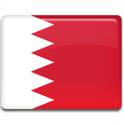 Bahrain Flag Sticker