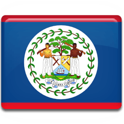 Belize Flag Sticker