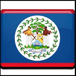 Belize Flag Sticker