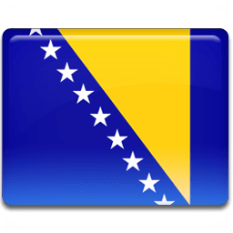 Bosnian Flag Sticker