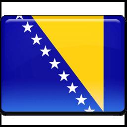 Bosnian Flag Sticker