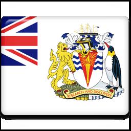 British Antarctic Territory Sticker