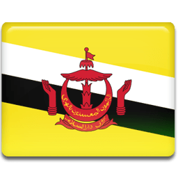 Brunei Flag Sticker