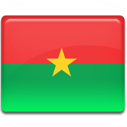 Burkina Faso Flag Sticker