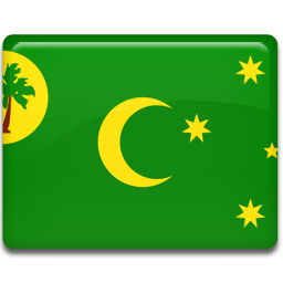 Cocos Islands Sticker