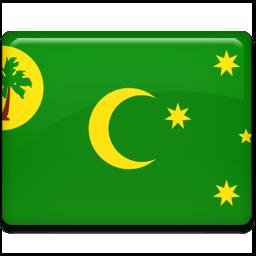 Cocos Islands Sticker