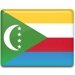 Comoros Flag Sticker