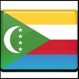 Comoros Flag Sticker