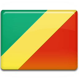 Congo Flag Sticker