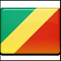 Congo Flag Sticker
