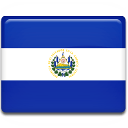 El Salvador Flag Sticker