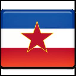 Ex Yugoslavia Flag Sticker
