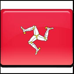 Isle Of Man Flag Sticker