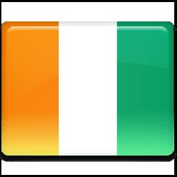 Ivory Coast Flag Sticker