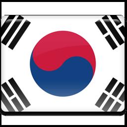 Korea Flag Sticker