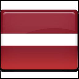 Latvia Flag Sticker