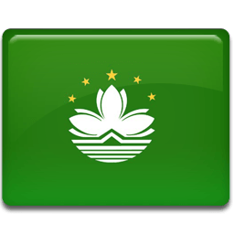 Macau Flag Sticker