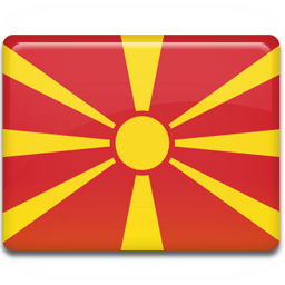 Macedonia Flag Sticker