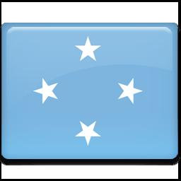 Micronesia Flag Sticker