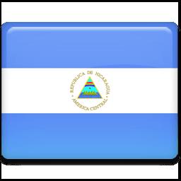 Nicaragua Flag Sticker