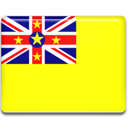 Niue Flag Sticker