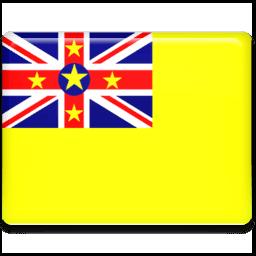 Niue Flag Sticker