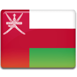 Oman Flag Sticker