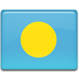 Palau Flag Sticker