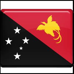 Papua New Guinea Flag Sticker