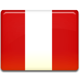 Peru Flag Sticker