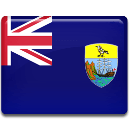 Saint Helena Flag Sticker